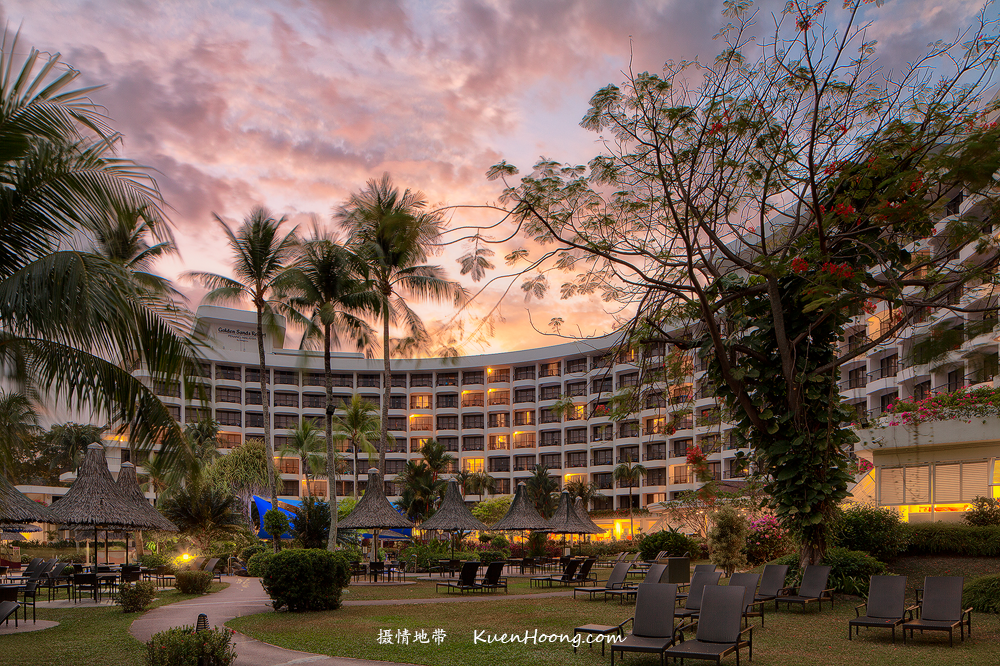 Sunrise at Golden Sands Resort