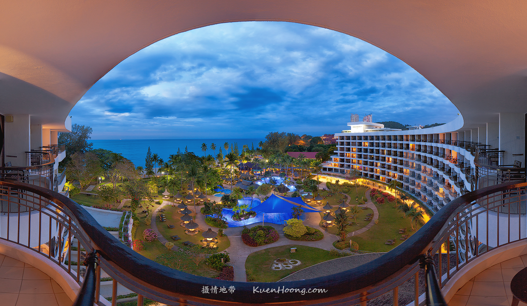 Golden Sands Resort - Panorama View
