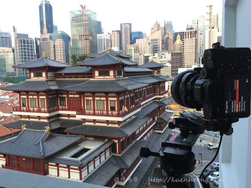 Photographing Buddha Tooth Relic Temple